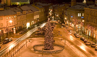 Vilnius City Tour| Town Hall square photos